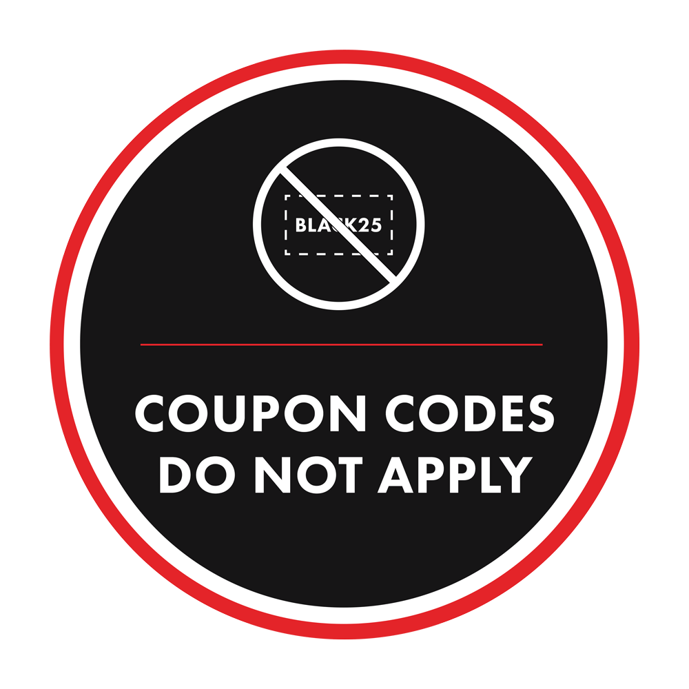 copon codes do not apply