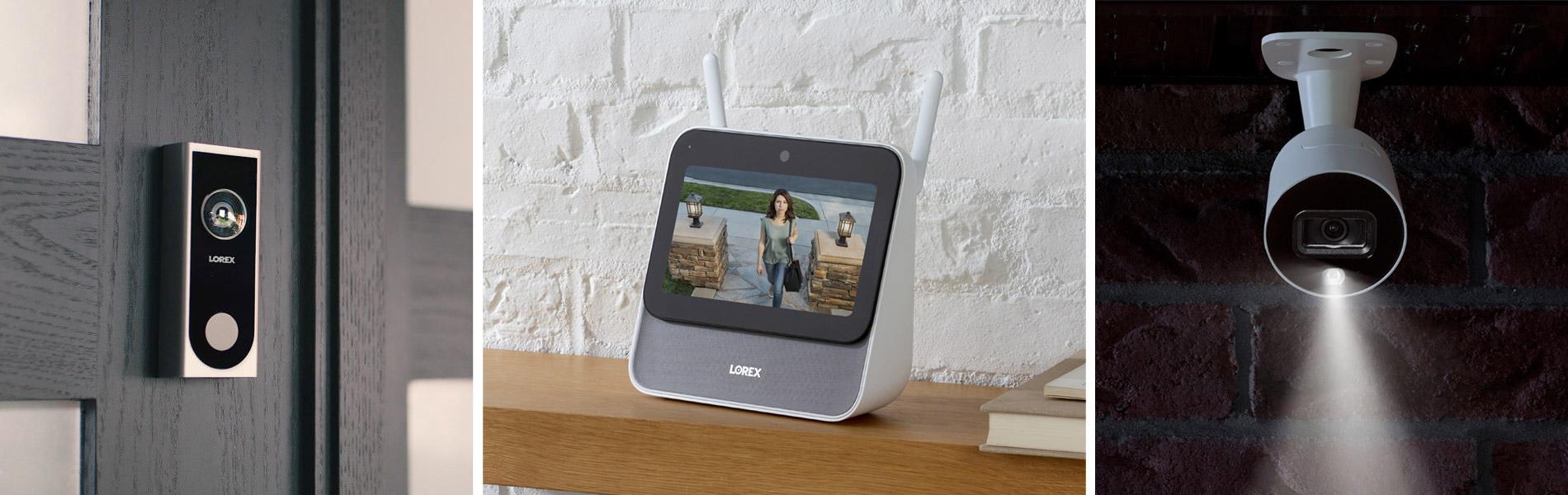Lorex Smart Home Security Center and Indoor / Outdoor Cameras