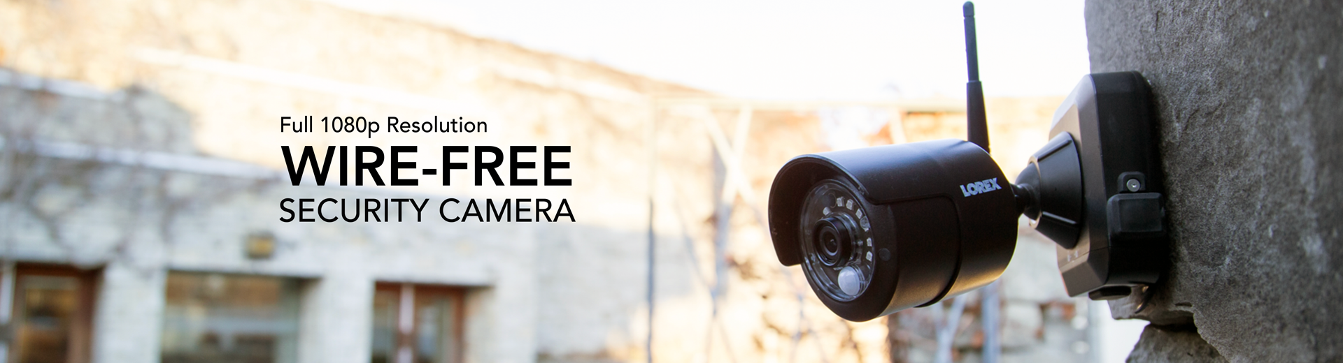 Wire Free Security Camera Systems Long Distance Video