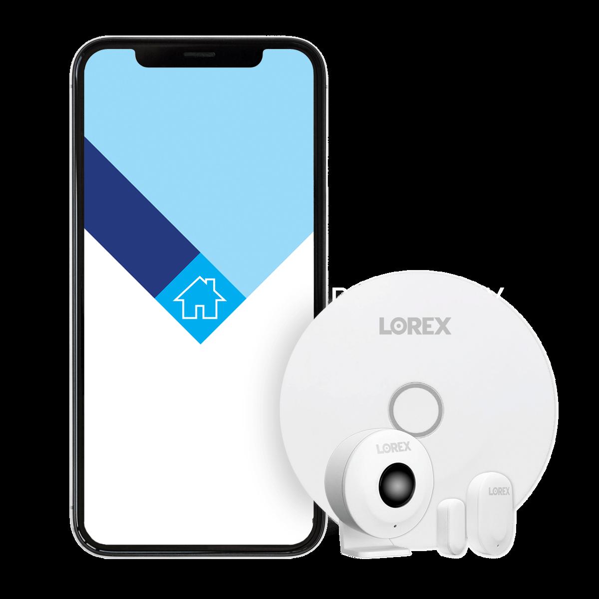 Lorex Sensor Kit and Lorex Home App