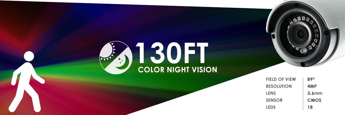 Kamera IP o doskonałym zasięgu widzenia w nocy