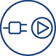 plug and play installation indoor wi-fi camera