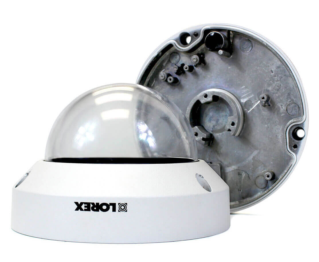 metal PTZ security camera
