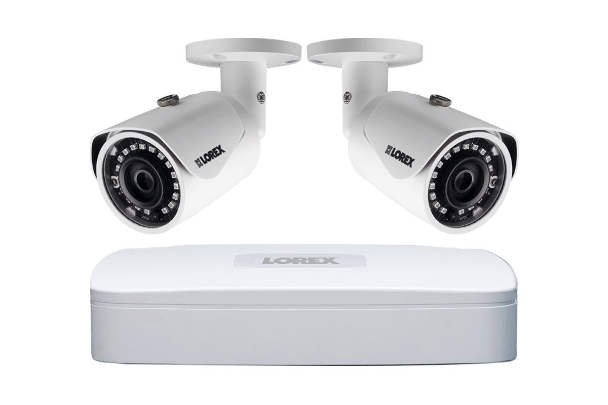 2k Ip Security Camera System With 4 Channel Nvr And 2 Hd