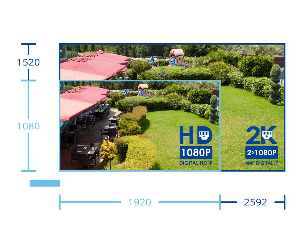 2k PTZ IP camera from Lorex