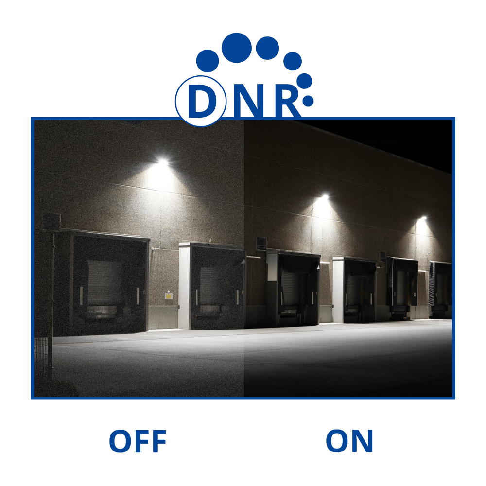 DNR digital noise reduction example