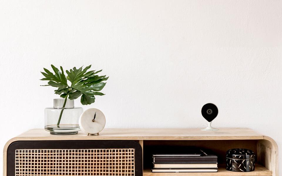 indoor wi-fi security camera banner